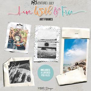 Live Wild & Free {artFrames}
