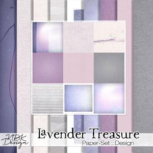 Lavender Treasure {Papers}