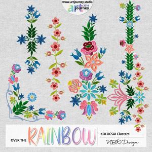 Over the Rainbow {Kalocsai Cluster}