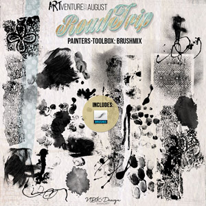 Roadtrip {Painters-Toolbox: Brushmix – Brushes & Stamps}