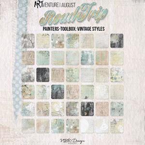 Roadtrip {Painters-Toolbox: Vintage-Styles}