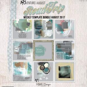 Roadtrip {Template Bundle July 2017 | Weeks 31 - 35}