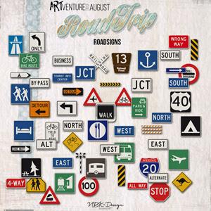Roadtrip {Roadsigns}