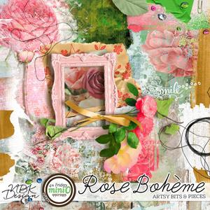 Rose Bohème {Artsy Bits & Pieces}