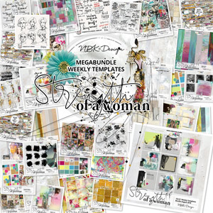 Strength of a Woman {Bundle: Weekly Templates}
