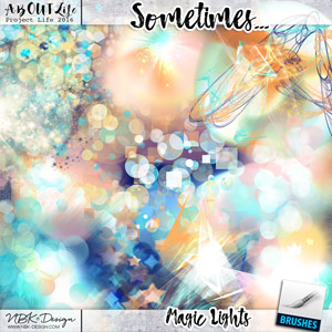 Sometimes... {Magic Lights}