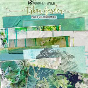 Urban Garden {Paperset: Mixed Media}