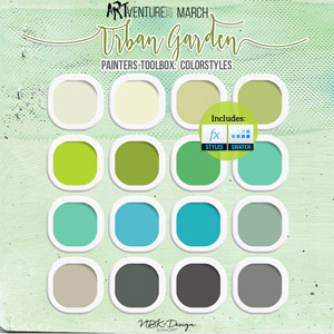 Urban Garden {Painters-Toolbox: Color-Styles}