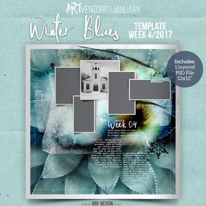 Winter Blues {Template 04/2017}