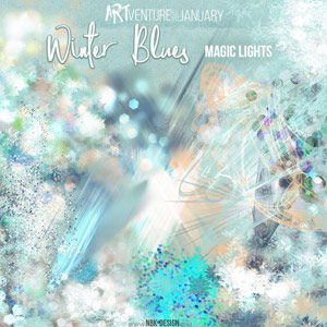 Winter Blues {Magic Lights}