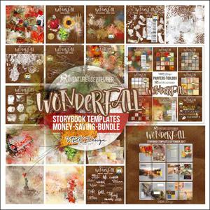 WonderFall {Megabundle Storybook Templates September 2017}