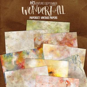 WonderFall {Paperset: VintageArt}