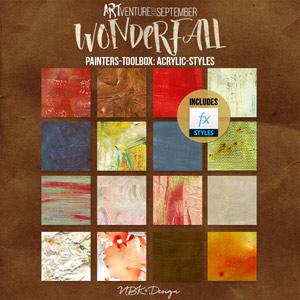 WonderFall {Painters-Toolbox: Acrylic-Styles}
