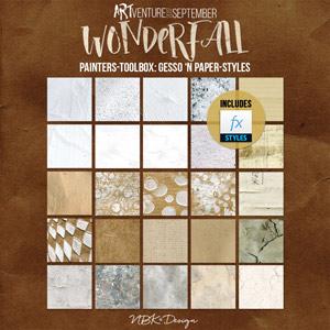 WonderFall {Painters-Toolbox: Gesso 'n Paper-Styles}