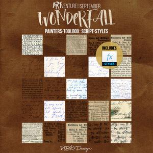 WonderFall {Painters-Toolbox: Script-Styles}
