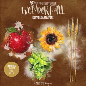 WonderFall {Editable artLayers}