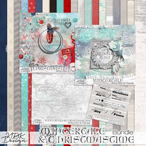 Christmastime & Wintertale {Bundle}