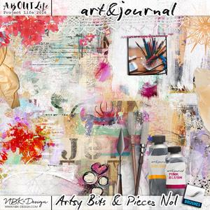 art & journal {Artsy Bits & Pieces No1}