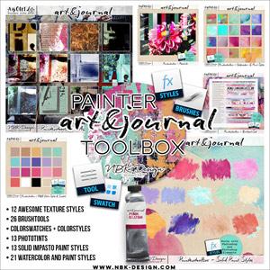 art & journal {Painters Toolbox}