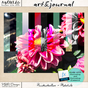 art & journal {Painters Toolbox - Phototints}
