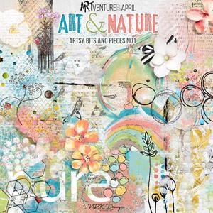 Art & Nature {Artsy Bits & Pieces No1}
