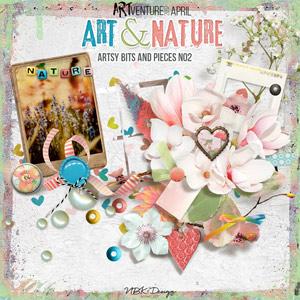 Art & Nature {Artsy Bits & Pieces No2}