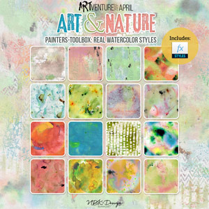 Art & Nature {Painters-Toolbox: Real Watercolor Styles}