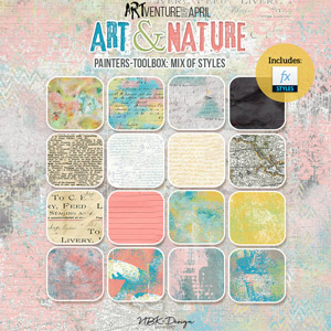 Art & Nature {Painters-Toolbox: Mix of Styles}