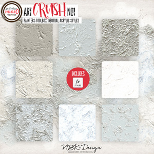 artCRUSH No1 {Painters-Toolbox: Neutral-Acrylic-Styles}