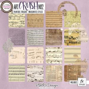 artCRUSH No2 {Painters-Toolbox: Musicnotes}