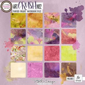 artCrush No2 {Watercolor-Styles}