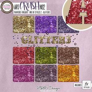 artCrush No2 {Glitter-Styles3}