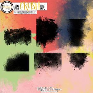 artCRUSH No3 {Watercolor-Blendingmasks}