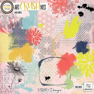 artCRUSH No3 {Brushmix - Stamps + Brushes}