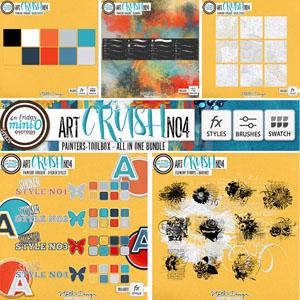 artCRUSH No4 {Painters-Toolbox}