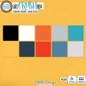 artCRUSH No4 {Painters-Toolbox: Colors}