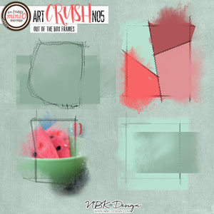 artCRUSH No5 {Out of the Box Frames}