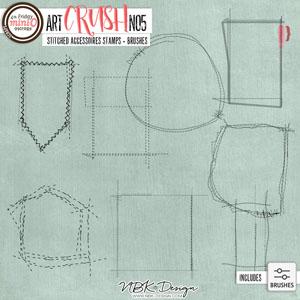 artCRUSH No5 {Stitched Accessoires}
