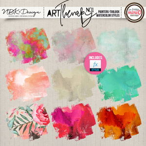 artTherapy No1 {Painters-Toolbox: Watercolor-Styles}