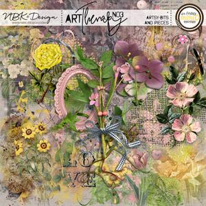artTherapy No3 {Artsy Bits & Pieces}