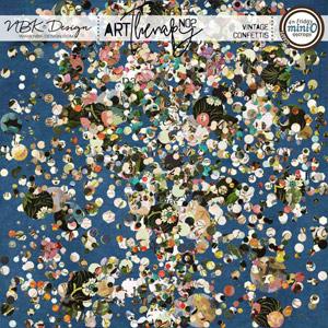 artTherapy No2 {Vintage Confettis}
