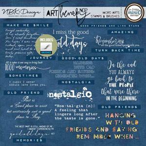artTherapy No2 {Word Art}