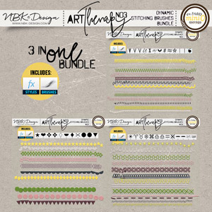 artTherapy No3 {Dynamic Stitches Bundle}