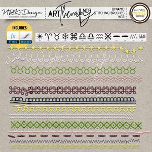 artTherapy No3 {Dynamic Stitches No3}