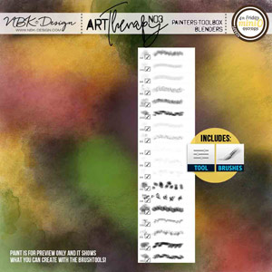 artTherapy No3 {Painters-Toolbox: Blenders}