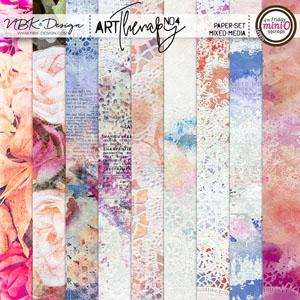 artTherapy No4 {Paper-Set: MixedMedia}