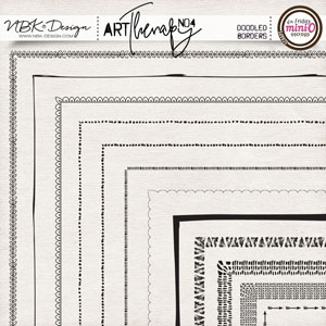 artTherapy No4 {Doodled Borders}