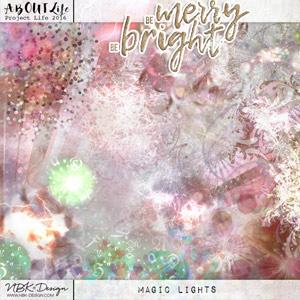 Be Merry Be Bright {Magic Lights}