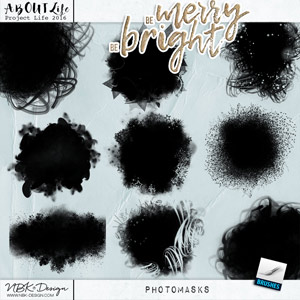 Be Merry Be Bright {Photomasks}