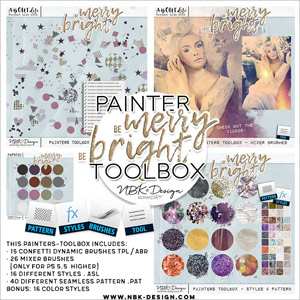 Be Merry Be Bright {Painters-Toolbox}